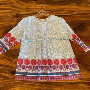 New! Boden Tunic Blouse size 12